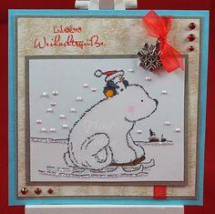 Tinas kreative Seite - #1 von 24 Squares for Christmas