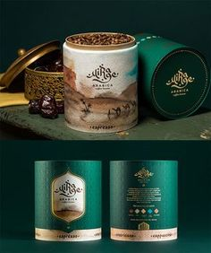Mirage Arabica Coffee by Karen Gevorgyan Jar Packaging, Food Packaging Design, Coffee Packaging, Coffee Branding, Packaging Ideas, Coffee Market, Coffee Shops, Coffee Bean Direct, Arabica Coffee Beans
