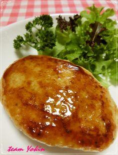 鶏ひき肉が*最高*豆腐ハンバーグ