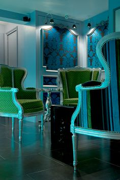 turquoise - Hotel Design Sorbonne
