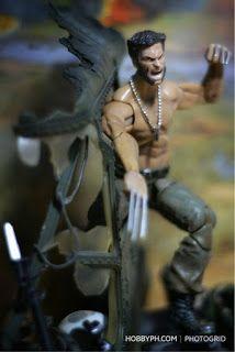 Toy Dioramas #4 - Wolverine Marvel Cinematic Universe Figure Poses, Stop Motion, Marvel Cinematic Universe, Wolverine, Marvel Comics, Action Figures, Toys, Dioramas, Activity Toys