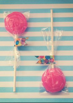 oh my little lollipop...lollipop diy