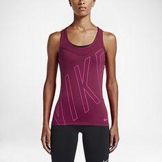 Träningslinne med grafik Nike Pro Hypercool för kvinnor