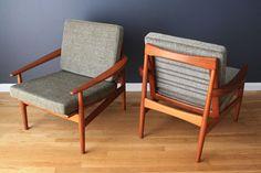MCM teak chairs