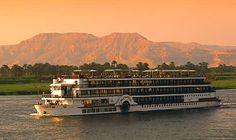 Navio no #rionilo. #Egito #viagem