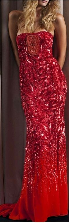 Sparkle red haute gorgeous
