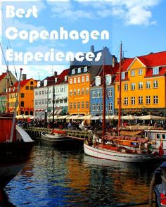 Travel the World: 10 things to do in Copenhagen Denmark--Boat tour through canals