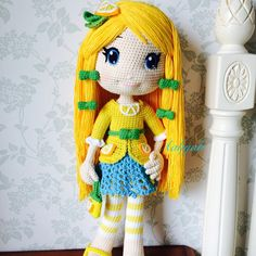 Lemon meringue #lemon #doll #dolls #crochetdoll #amigurumi #craft #handmade #毛線娃娃 #編織 #編みぐるみ #手作り #人形娃娃