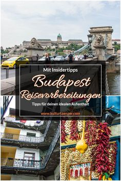 Budapest Reisevorbereitungen - Das solltest du wissen! Visit Budapest, Reisen In Europa, Eastern Europe, Hungary, Vietnam, Travel Tips, To Go, Culture, Vacation
