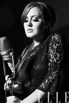 May 2013 #ELLE #Magazine #Adele