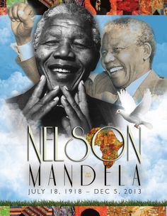 In memory of. Took some time out to create a memorial cover for Nelson Mandela. I think that love and much detail should be put into each and every funeral program.