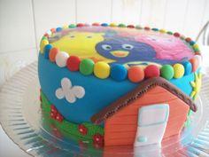 bolo backyardigans casinha