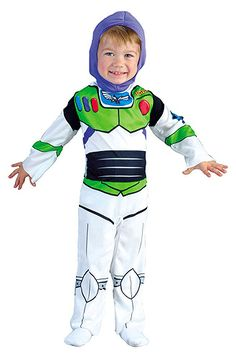 Okay, so he loved Buzz Lightyear when he was 2-3 (wore it the Halloween before last), but he loved Buzz SOOOOOOOO much. Now he's WAY over Buzz.