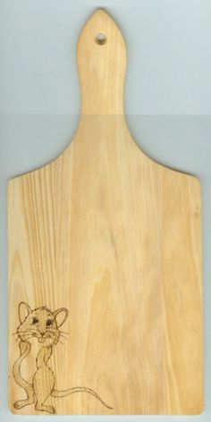 Cheeseboard Scorch's Pyrography - Household items