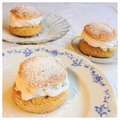 This is a semla, something that we eat in Sweden :). But this one is made glutenfree, milkfree and sugarfree by Nilla's kitchen.