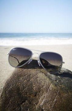 Timeless shades | Ray-Ban aviator sunglasses #RayBan #Aviators #sunglasses