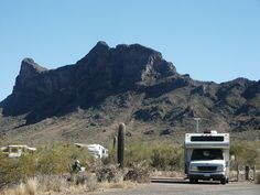 Campground at Picacho Peak State Park, Arizona. Photo by Bob Difley.