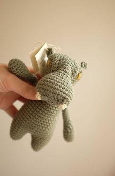 milasila / hroch Cute Crochet, Dinosaur Stuffed Animal, Toys, Animals, Activity Toys, Animales, Animaux, Clearance Toys, Animal