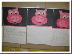 First Grade Version - Three Little Pigs - 'How to Trick a Wolf' writing activity. I think fifth graders would enjoy this during tier time. Kindergarten Writing, Teaching Writing, Writing Activities, Preschool Activities, Teaching Ideas, Literacy, Three Little Pigs Story, Fairy Tales Unit, Traditional Tales