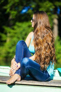 0aab548e375e Thick Hair Bob Haircut, Long Hair Models, Permed Hairstyles, Pretty  Hairstyles, Hair
