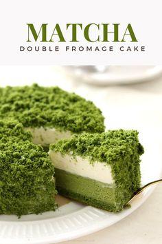 Who wants a slice of this matcha made in heaven cake? Matcha Dessert, Matcha Cake, Best Matcha, House Cake, Green Tea Powder, Matcha Green Tea, Teas, Healthy Drinks, Fun Desserts