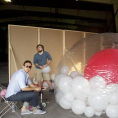 Zorb. Men.    Caption contest....Go!