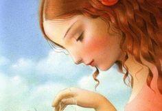 Nicoletta Ceccoli, How Robin Saved Spring) - whimsical art