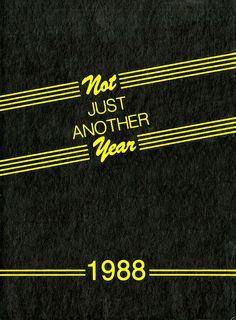 1988 Desert, University of Arizona Yearbook