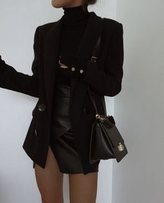 View all pictures, buttons and outfits from ( on 21 Buttons Edgy Outfits, Mode Outfits, Cute Casual Outfits, Fall Outfits, Black Outfits, Urban Style Outfits, Prom Outfits, Winter Fashion Outfits, Pretty Outfits