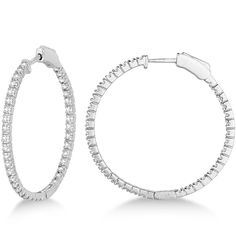 Uniquepedia.com - Medium Thin Round Diamond Hoop Earrings 14k White Gold (1.50ct), $1,710.00 (http://www.uniquepedia.com/medium-thin-round-diamond-hoop-earrings-14k-white-gold-1-50ct/)