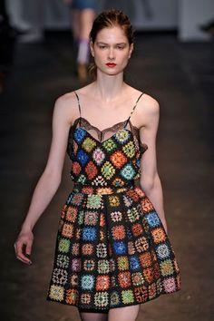 Sidney Artesanato: Vestidos crochet....