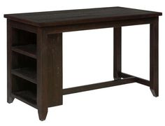 Prospect Creek Casual Wood Reclaimed Pine Counter Height Dining Table