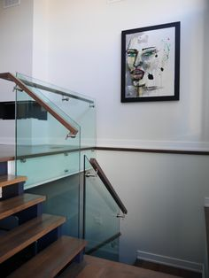 P1030236 Open Stairs, Loft Stairs, Custom Glass, Glass Kitchen, Backsplash, Clear Glass, Home Decor, Decoration Home, Room Decor