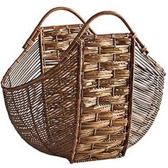 Apron Basket - from Pier I - don't know if it's still available.