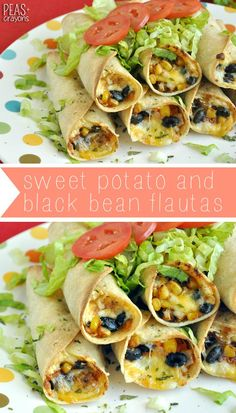 and crayons baked black bean and sweet potato flautas crispy baked ...