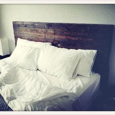 Headboard Reclaimed Wood by Reanimatedwood on Etsy, $550.00