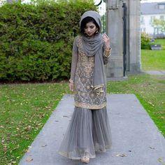 One step at a time 🙈 Tap for details Pakistani Party Wear, Pakistani Bridal Dresses, Pakistani Dress Design, Pakistani Outfits, Indian Outfits, Pakistani Gharara, Bridal Lehenga, Designer Party Wear Dresses, Indian Designer Outfits