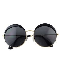 c5b8c245a2b Fashionable Round Black Oversized Sunglasses - Zooomberg. zooomberg ·  Sunglasses · Fashionable Women Black Cat Eye ...