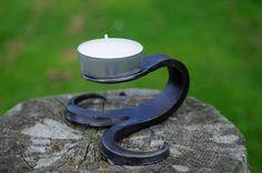 Tealight holder by SeanTheBlacksmith on Etsy