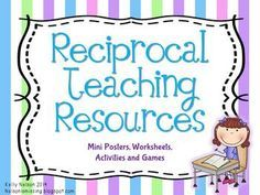 Reciprocal Teaching Resources – For Primary Grades – reciprocal teaching – Home Recipe Teaching Second Grade, First Grade, Grade 3, Reciprocal Reading, Reading Response Journals, Reading Groups, Teaching Resources, Teaching Ideas, Classroom Management