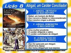 Lição 8, Abigail, um caráter conciliador, Completo, 70min, 2Tr17, Pr. He...