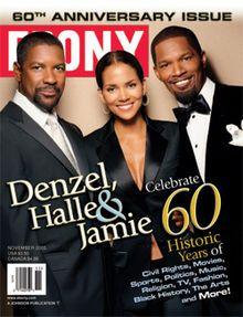 Denzel Washington, Halle Berry and Jamie Foxx Cover Ebony Magazine November 2005 Jet Magazine, Black Magazine, Life Magazine, Magazine Stand, Magazine Rack, Black Actors, Black Celebrities, Celebs, Ebony Magazine Cover