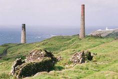 All that remains of the mining industry in Cornwall is ruins like these.