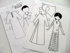 paper dolls dressup