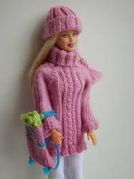Afbeeldingsresultaat voor kleertjes voor Barbie maken
