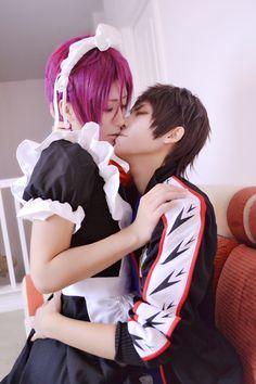 宗凜 - Tama and Ataito(小蛋☆小提) Sousuke Yamazaki, Rin Matsuoka Cosplay Photo - WorldCosplay