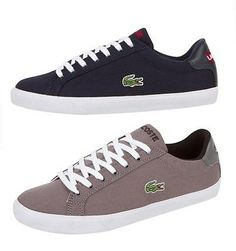 New LACOSTE Mens Shoes Graduate Vulc Canvas Fashion Casual Sport Sneakers