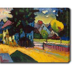 <li>Artist: Wassily Kandinsky</li> <li>Title: View of Murnau</li> <li>Product type: Gallery-wrapped canvas art</li>