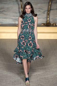 Matthew Williamson Spring 2015 Ready-to-Wear Fashion Show - Vittoria Ceretti (ELITE LONDON)