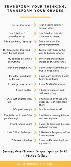 Develop a growth mindset for higher university and college grades. Grab your free guide and work sheet. Learn how to develop a growth mindset and believe you can become more intelligent. See your motivation and grades increase dramatically. Life Hacks For School, School Study Tips, School Tips, College Study Tips, School Stuff, School Lessons, School Ideas, Lerntyp Test, How To Become Smarter
